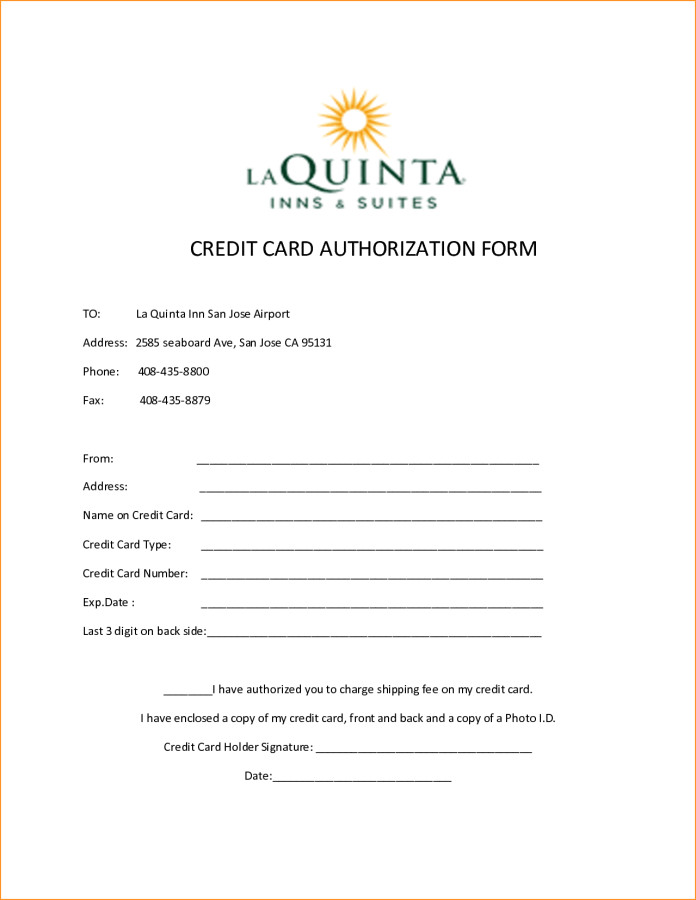 Credit Card Authorization Template Elsevier social Sciences Education Redefined