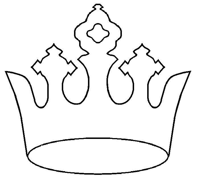 Crown Template for King 1000 Ideas About Crown Template On Pinterest