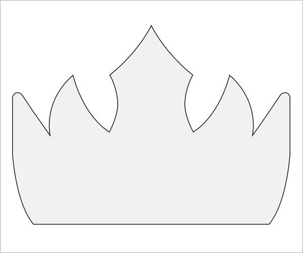 Crown Template for King 11 Crown Samples Pdf