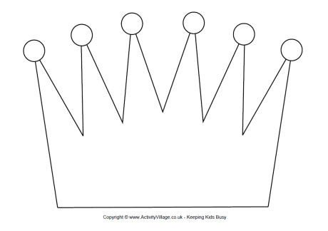 Crown Template for King King Crown Templates Gallery