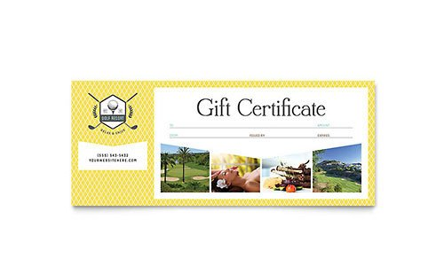 Cruise Gift Certificate Template Travel & tourism Gift Certificate Templates Word