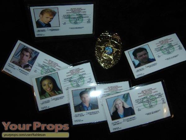 Csi Badge Template Csi Crime Scene Investigation Csi Miami Id Self Made