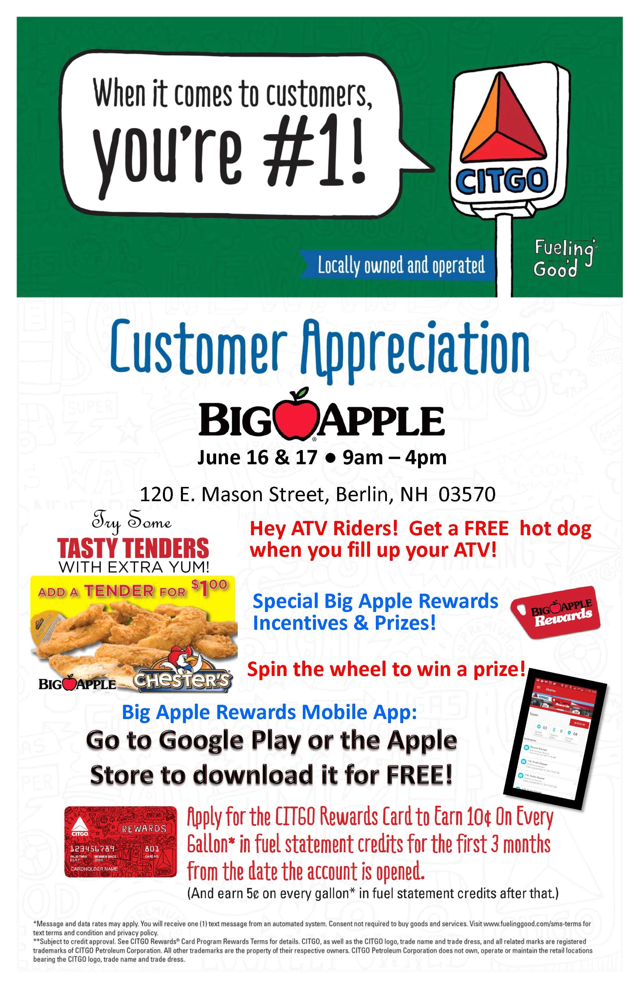 Customer Appreciation Flyer Template Customer Appreciation event Berlin Nh Cnbrown Big Apple