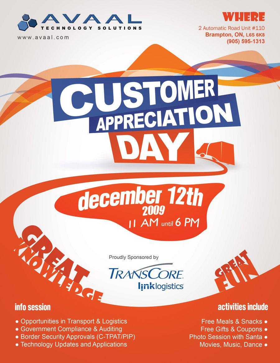 Customer Appreciation Flyer Template Customer Appreciation Flyer by Amitjakhu On Deviantart