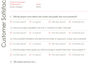Survey Templates – Printable Documents