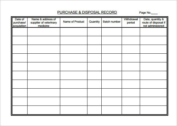 7 Medical Chart Template Free Word Excel PDF Format