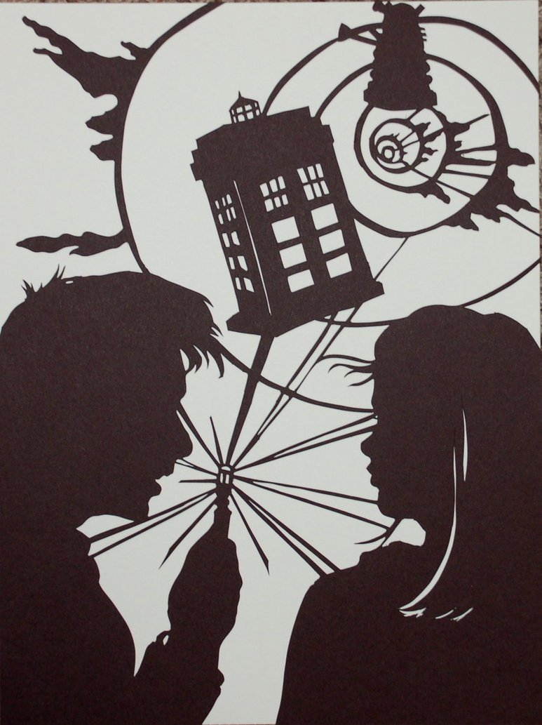 Doctor Who and Rose by Gateship on DeviantArt