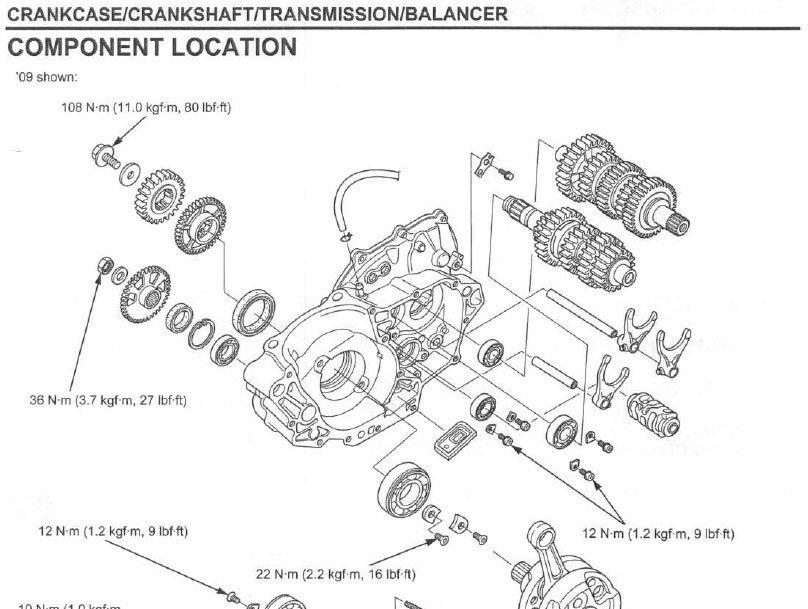 Db450 form Part C Service Manual 2009 2012 Honda Crf450r Frank Mxparts