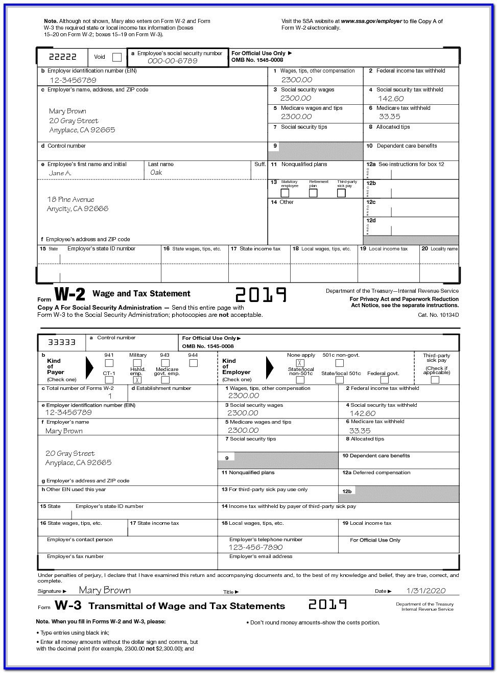 Db450 form Part C W2 form 2018 for Employees to Fill Out form Resume