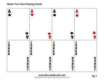 Deck Of Cards Template Blank Playing Card Template