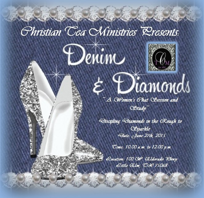 Denim and Diamonds Women's Bible Study – Christian Tea