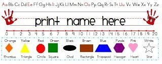 Desk Name Plate Template 1000 Ideas About Name Tag Templates On Pinterest
