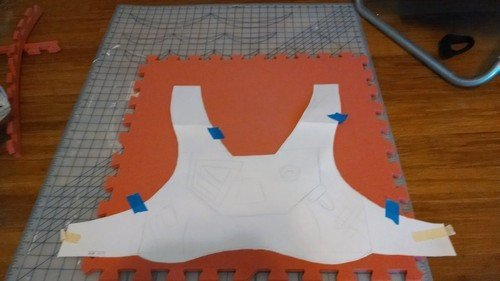 Laura s Cosplay Blog • Destiny Hunter Build Part 1 The