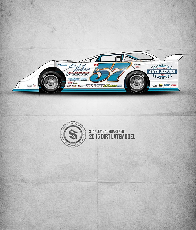 Dirt Late Model Body Template 28 Of Blank Dirt B Modified Template