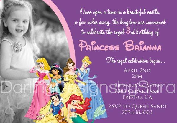 Disney Princess Invitation Template 11 Disney Invitation Designs & Templates Psd Ai