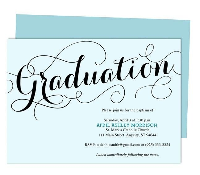 Diy Graduation Announcements Templates Free Carolyna Graduation Announcement Template