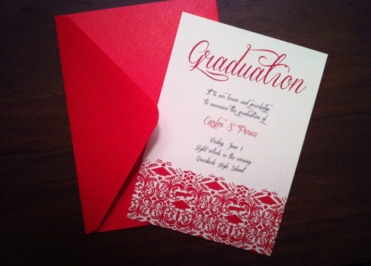 Diy Graduation Announcements Templates Free Diy Graduation Invitation Announcement High School College