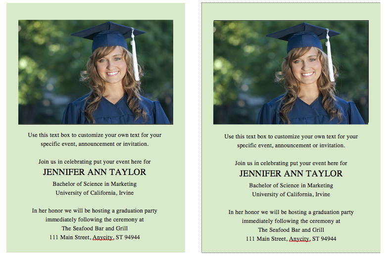 Diy Graduation Announcements Templates Free Free Graduation Invitation Announcement Template solid