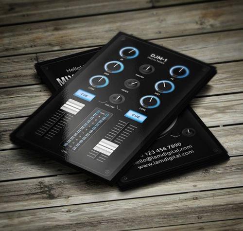 Dj Business Card Template 25 Best Ideas About Dj Business Cards On Pinterest