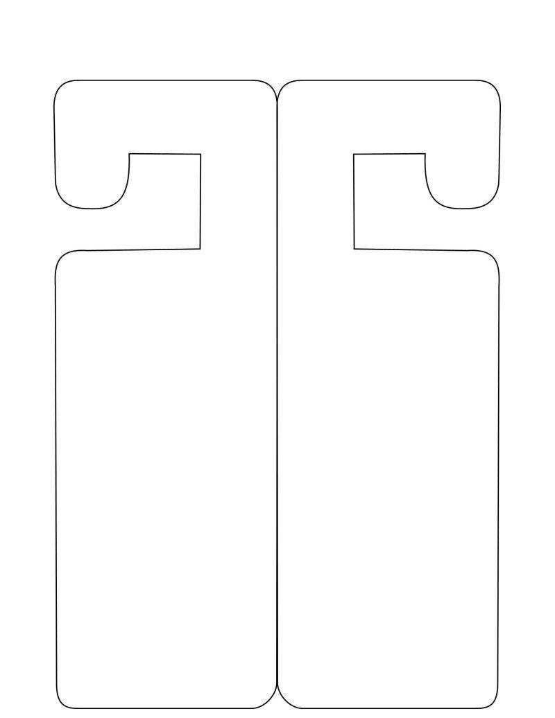Door Hanger Templates for Word Door Hanger Template