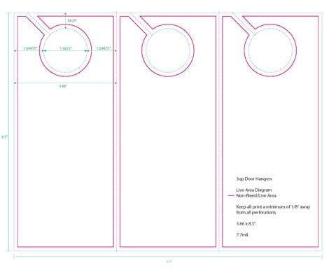 Door Hanger Templates for Word Research Door Hanger Campaign Item