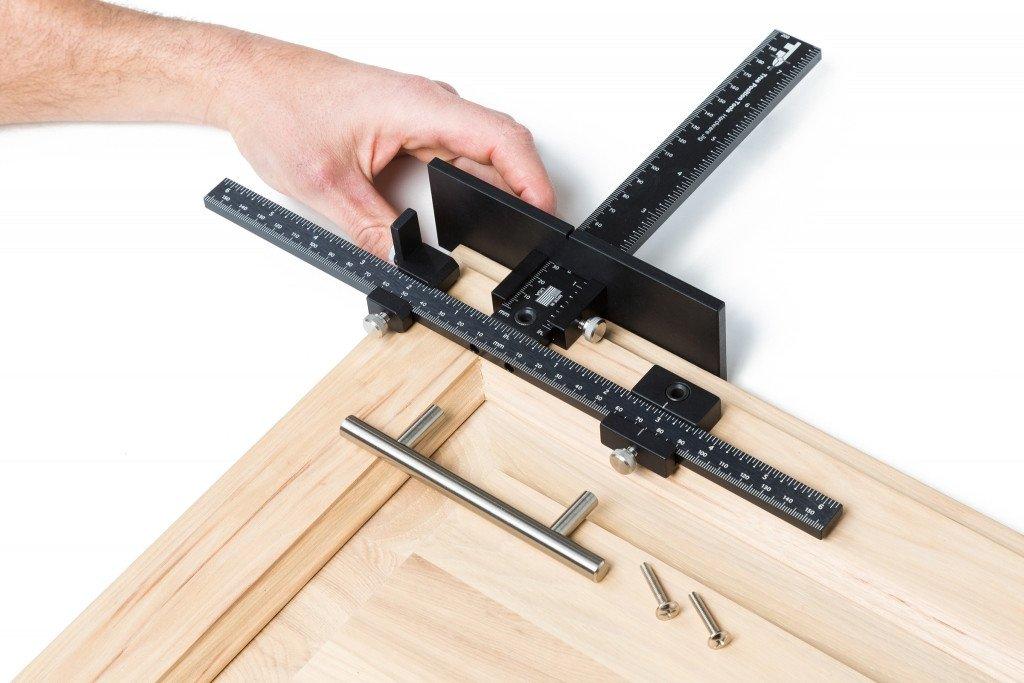 Door Knob Drill Template Tp 1934 Cabinet Hardware Jig True Position tools