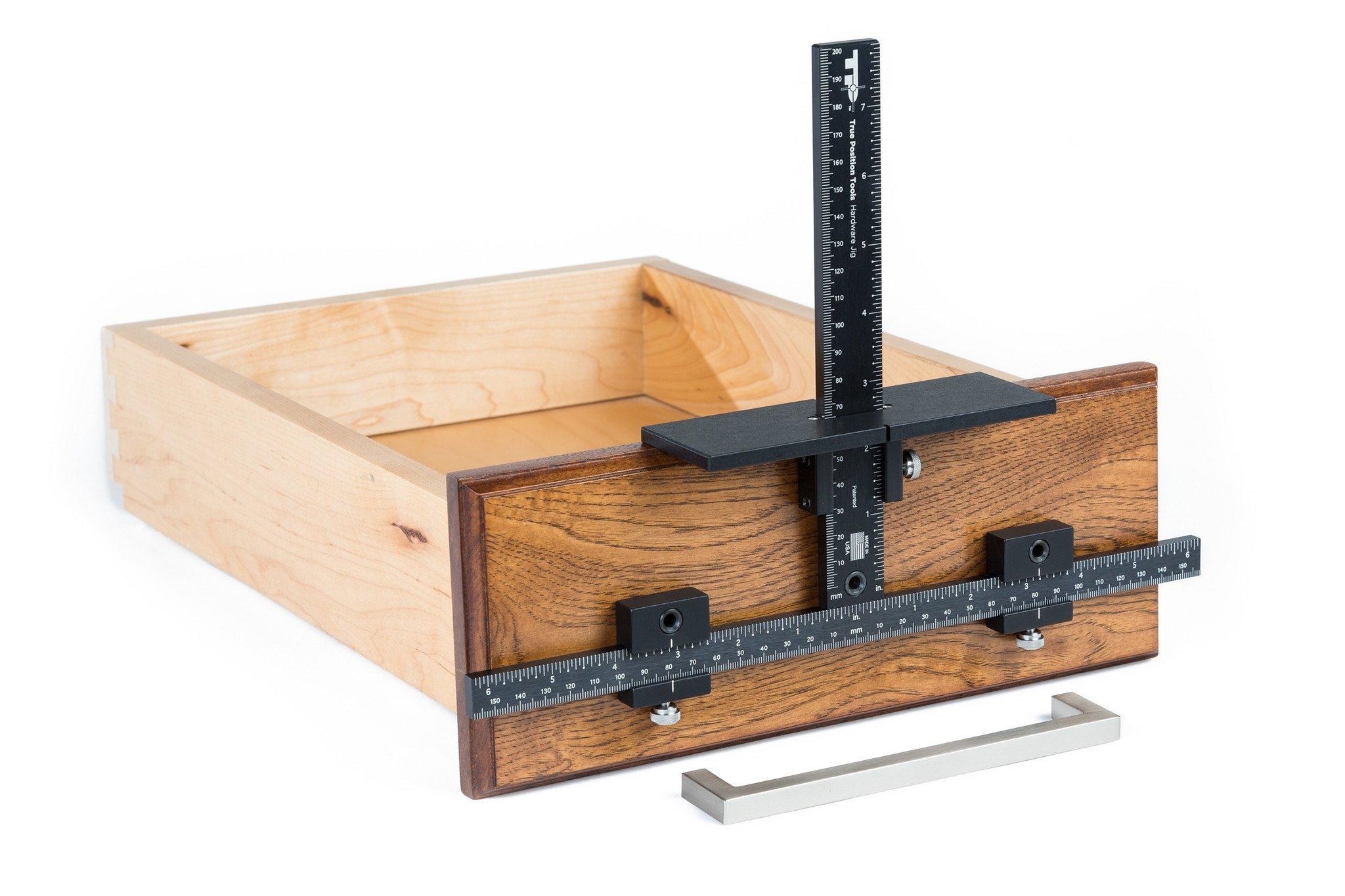 Door Knob Drill Template True Position Tp 1934 Cabinet Hardware Jig True Position