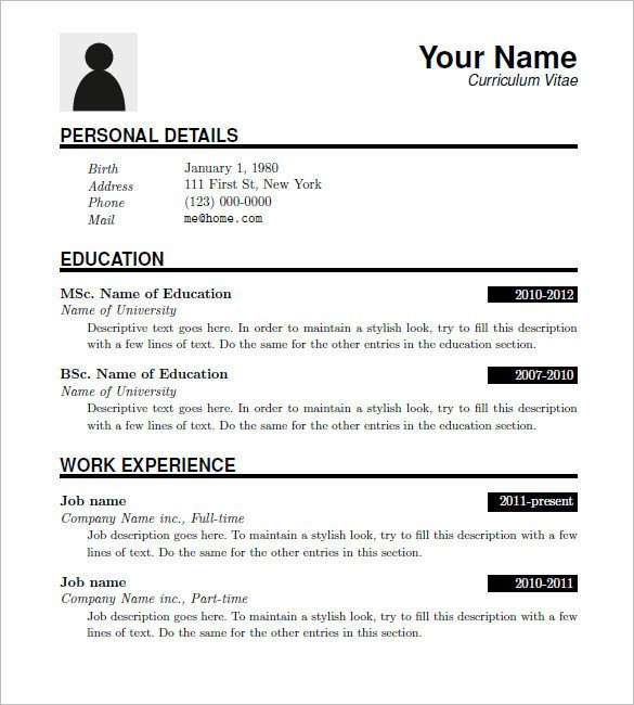 Downloadable Free Resume Templates 15 Latex Resume Templates Pdf Doc