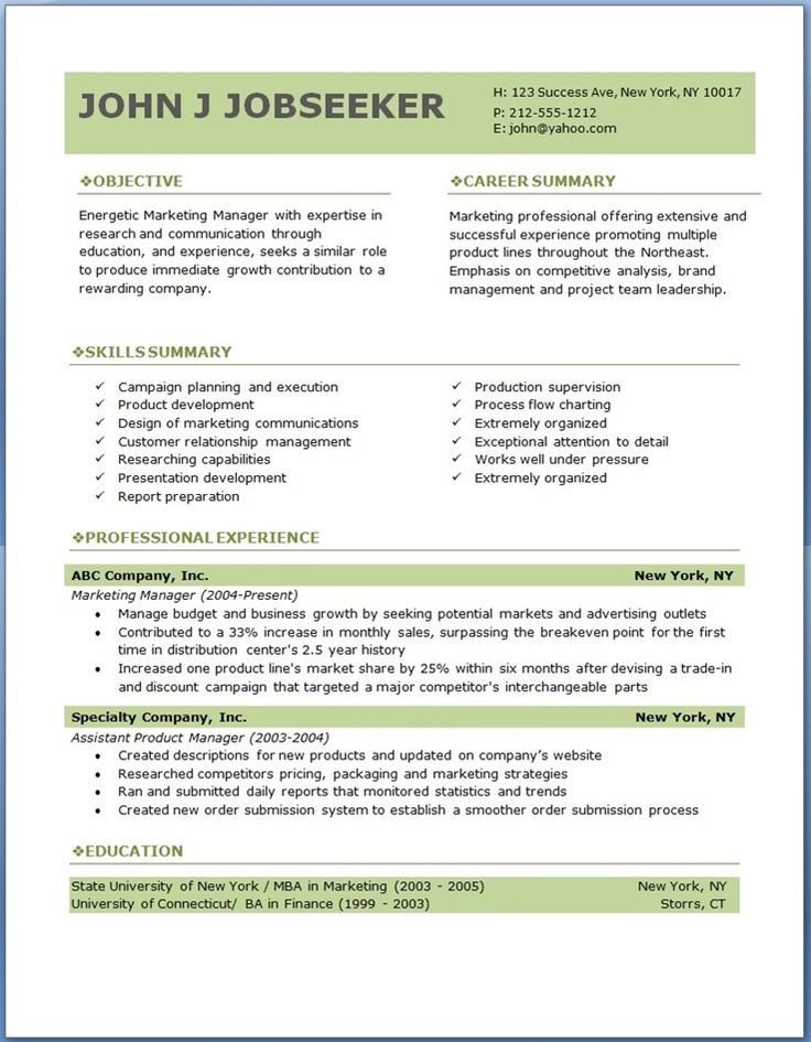 Downloadable Free Resume Templates 17 Best Ideas About Professional Resume Template On