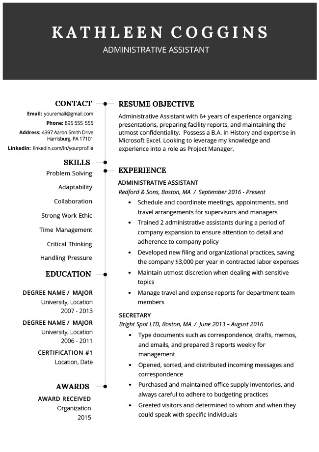 Downloadable Free Resume Templates 40 Modern Resume Templates Free to Download