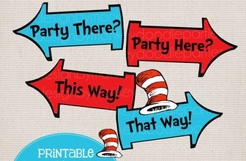 Dr Seuss Arrows Free Printables Dr Seuss Free Printables Google Search