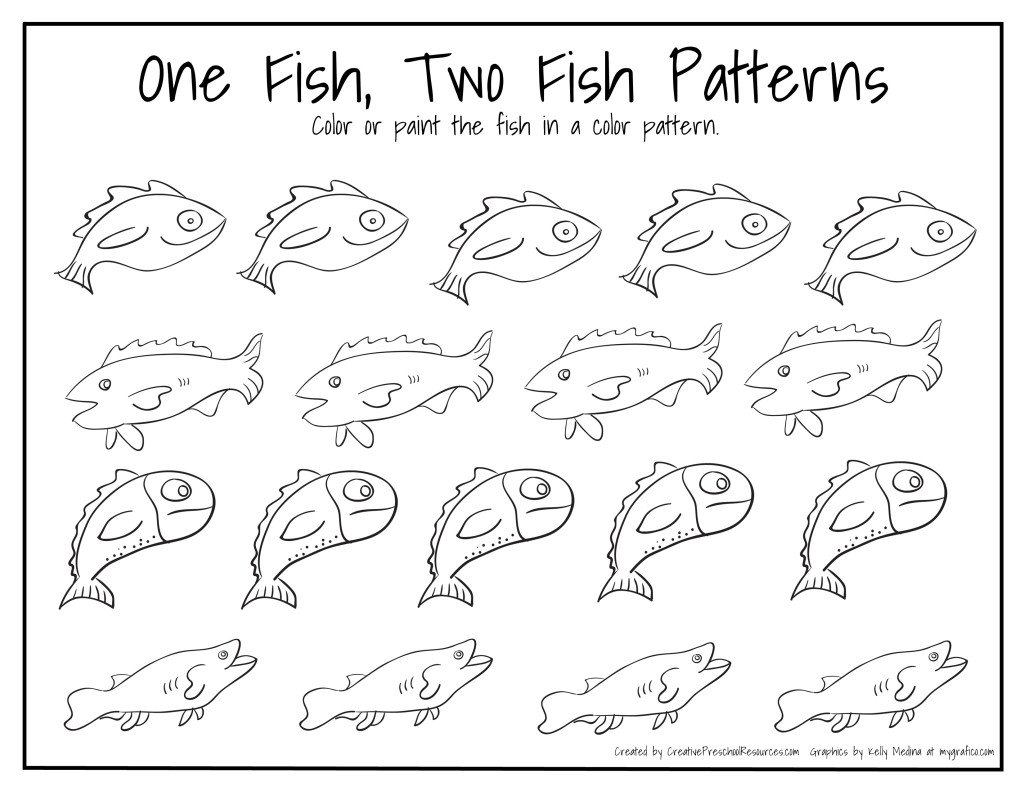 Dr Seuss Fish Template Dr Seuss Birthday – March 2nd