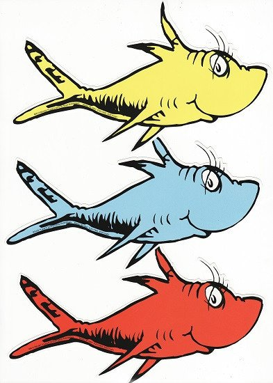 Dr Seuss Fish Template Seuss Cat In the Hat Scrapbooking Supplies 12x12 Papers