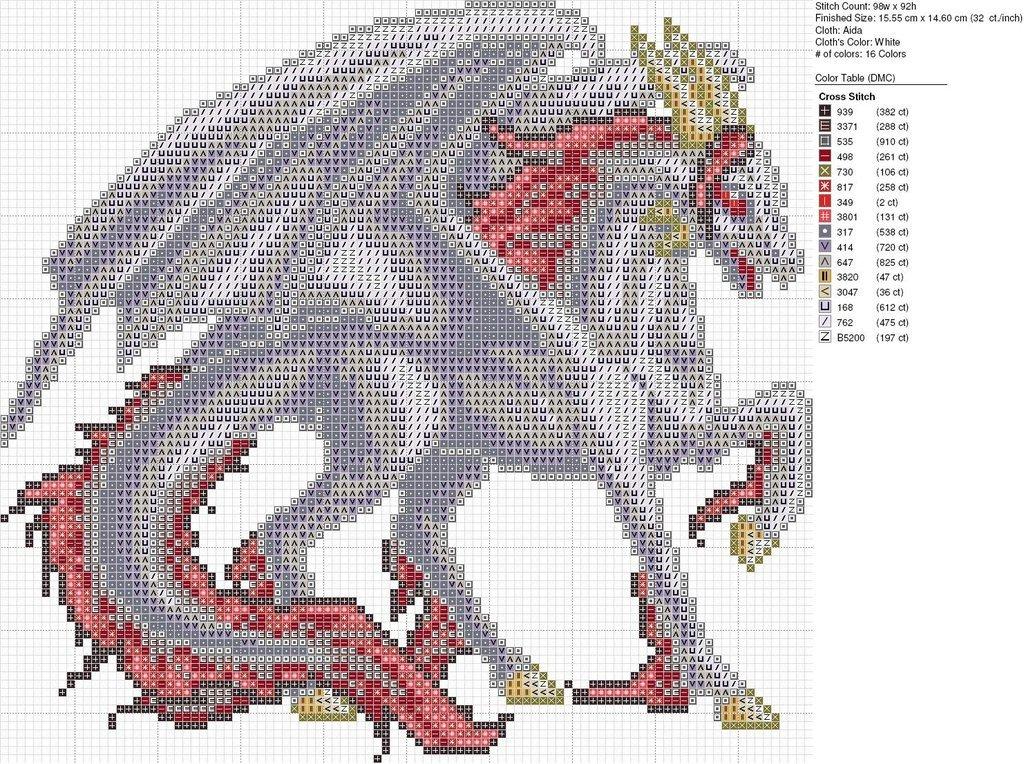 Dragon Pixel Art Grid Christmas White Red Dragon by Carand88 On Deviantart