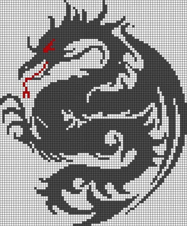 Dragon Pixel Art Grid Pin by Ryan Faltys On Minecraft Pixel Art Templates