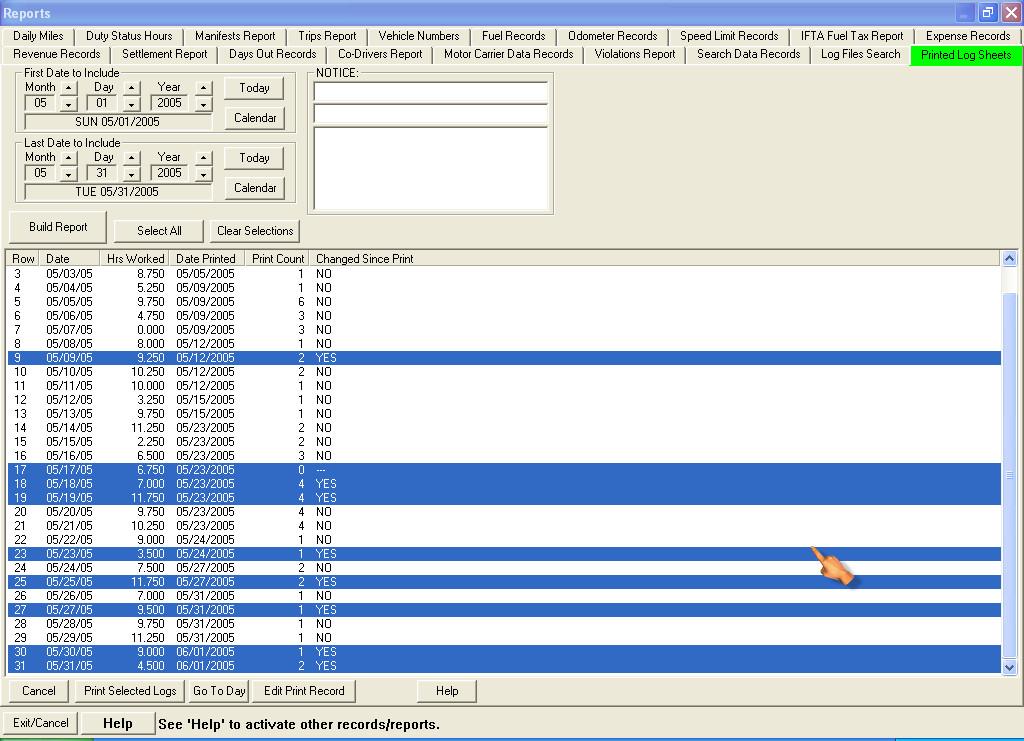 Driver Manifest Template Download Free software Truck Driver Log Sheet Template