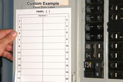 Electrical Panel Labels Template Download Electrical Circuit Breaker Panel Label Template