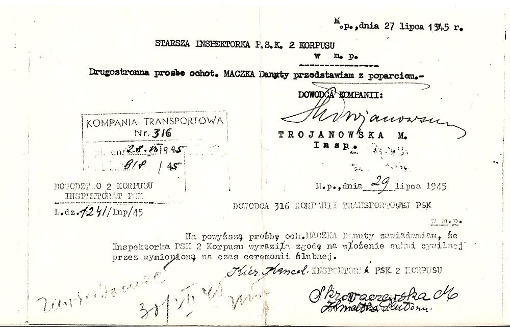 Element Birth Certificate Danutas Maczka's Birth Certificate English