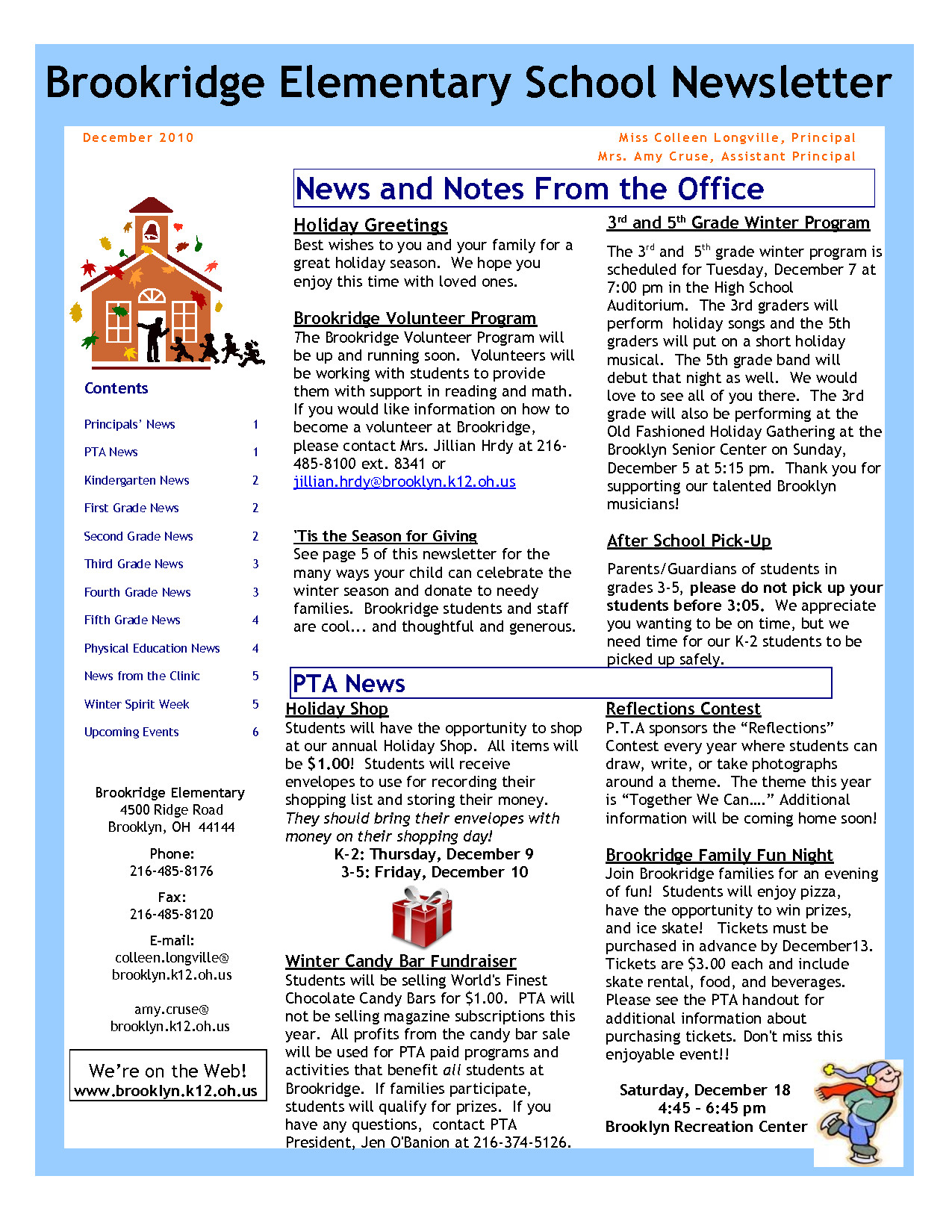 Elementary School Newsletter Template Best S Of Newsletter Examples and Ideas Monthly
