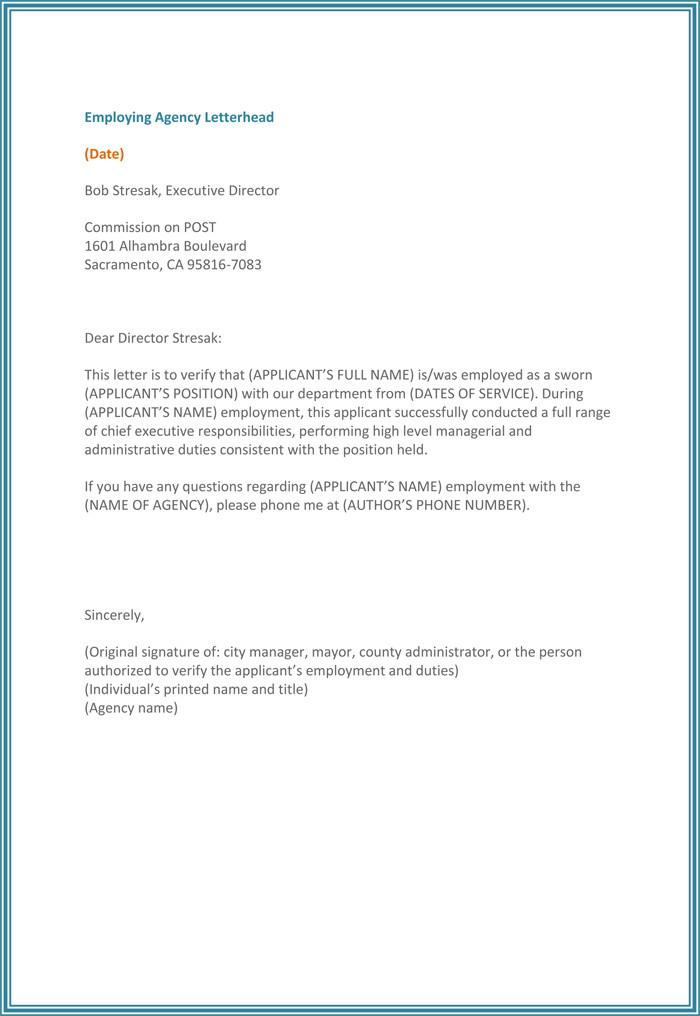 Employment Verification Letter Template Word 5 Employment Verification form Templates to Hire Best Employee