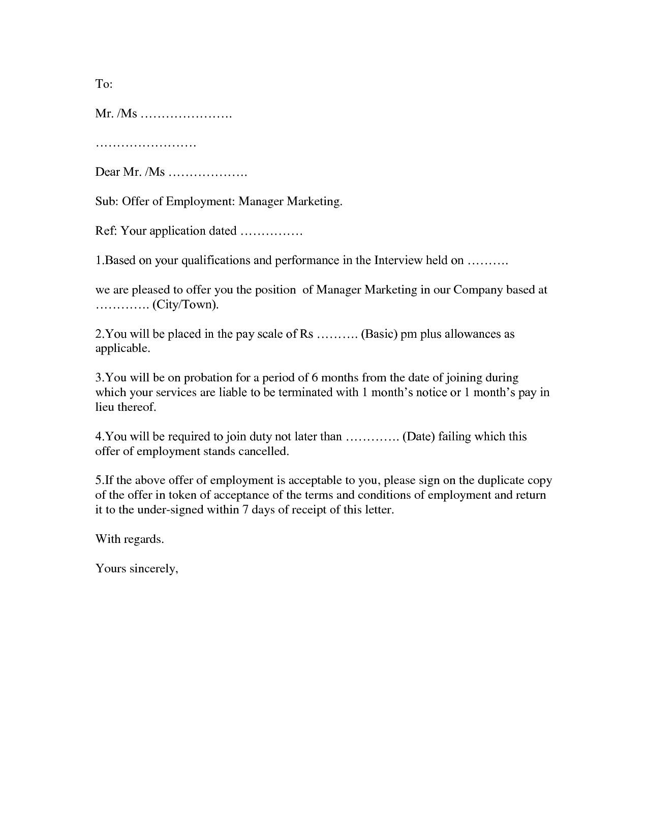 Employment Verification Letter Template Word Letter Employment Template Word