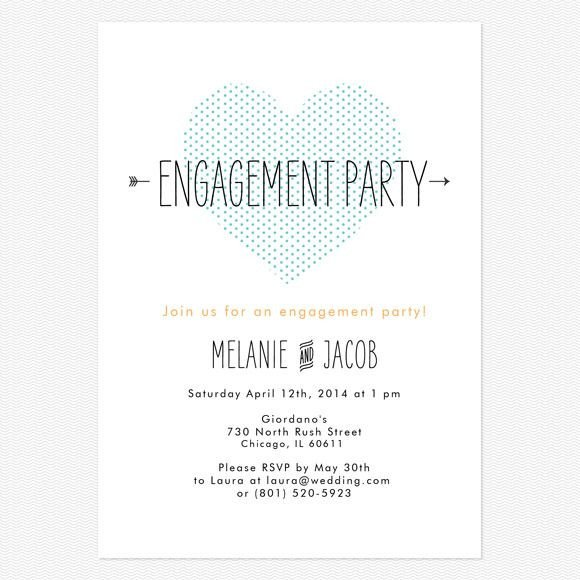 Engagement Party Invitation Templates 17 Best Ideas About Casual Engagement Party On Pinterest