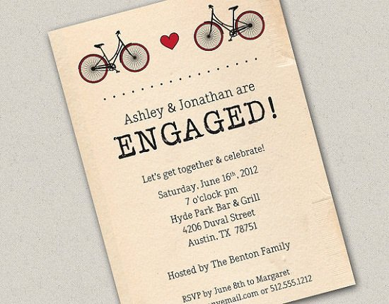 Engagement Party Invitation Templates Fun Engagement Party Invitation Wording