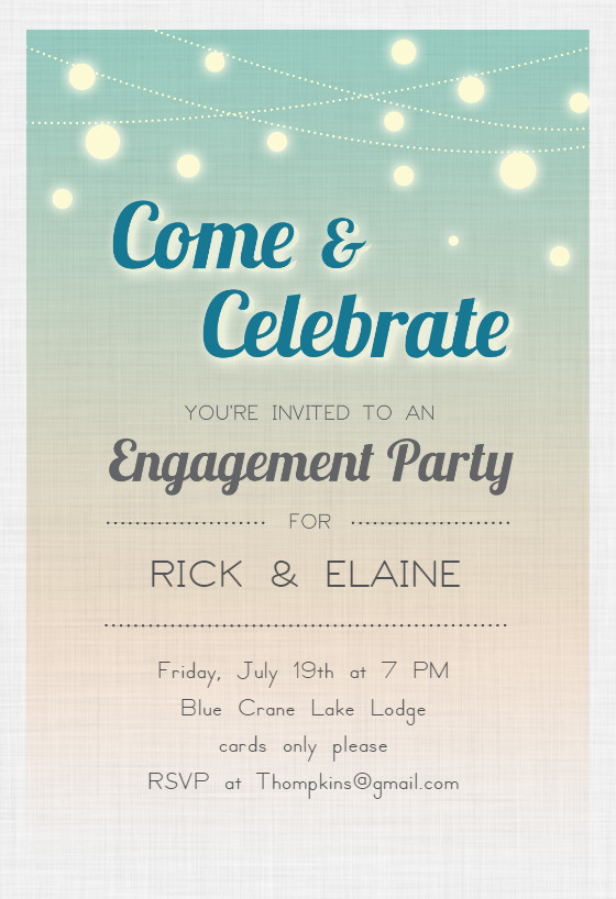 Engagement Party Invitations Templates Celebrate Engagement Engagement Party Invitation