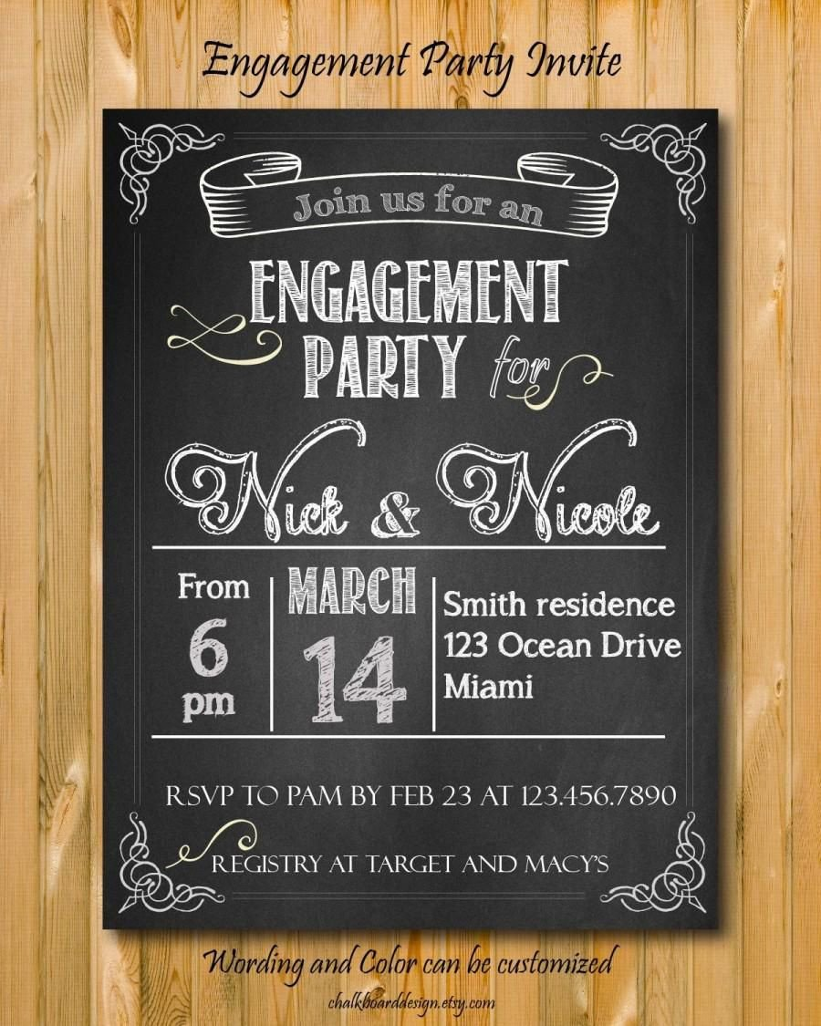 Engagement Party Invitations Templates Engagement Party Custom Engagement Party Invitations