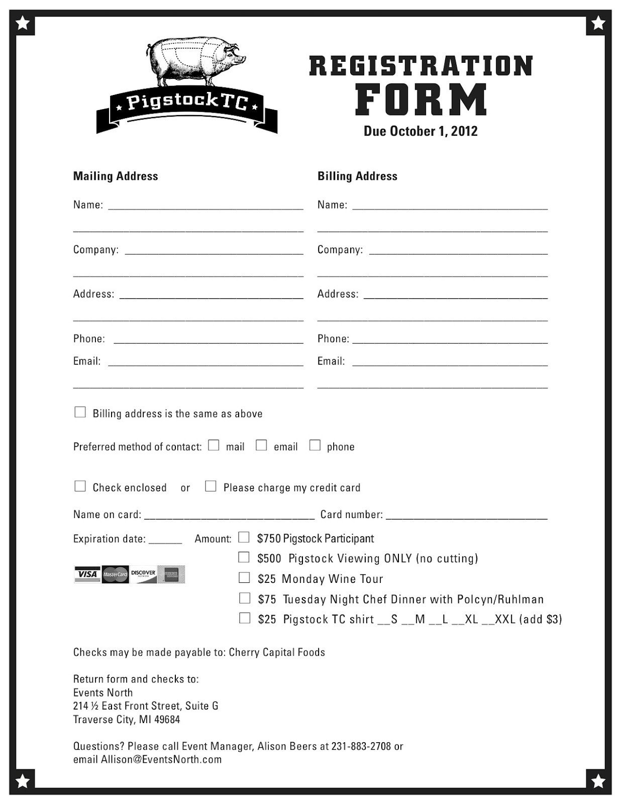 Entry form Template Word Entry form Template Word