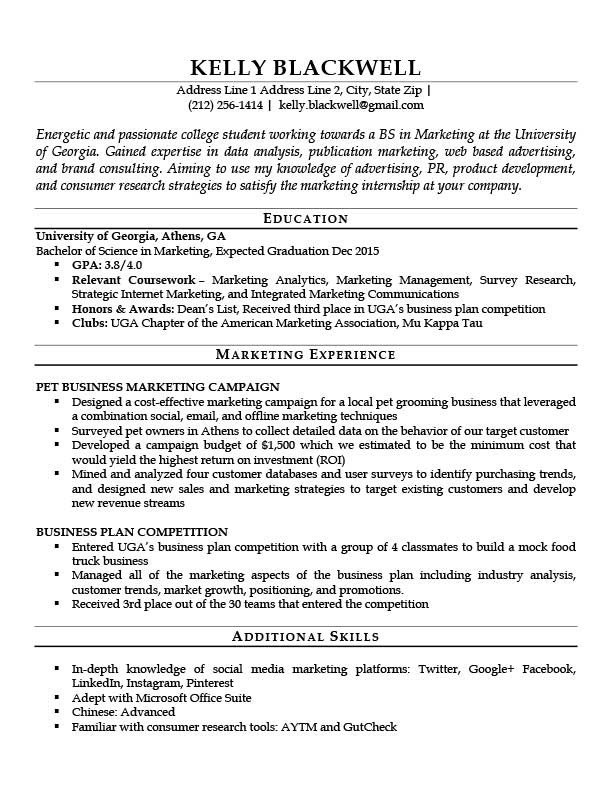 Entry Level Resume Templates Career Level & Life Situation Templates