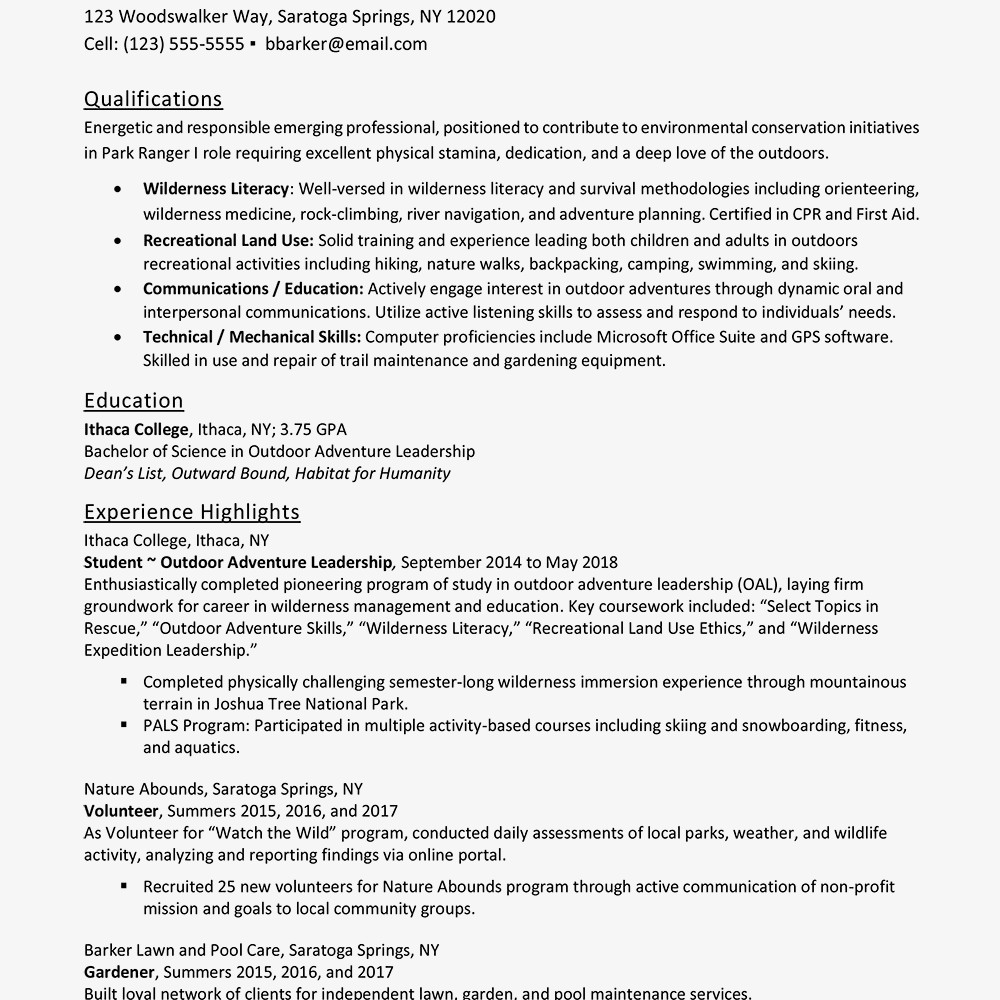Entry Level Resume Templates Entry Level Resume Examples and Writing Tips