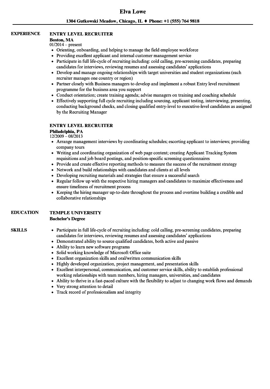 Entry Level Resume Templates Nice Resume for Entry Level Job Entry Level