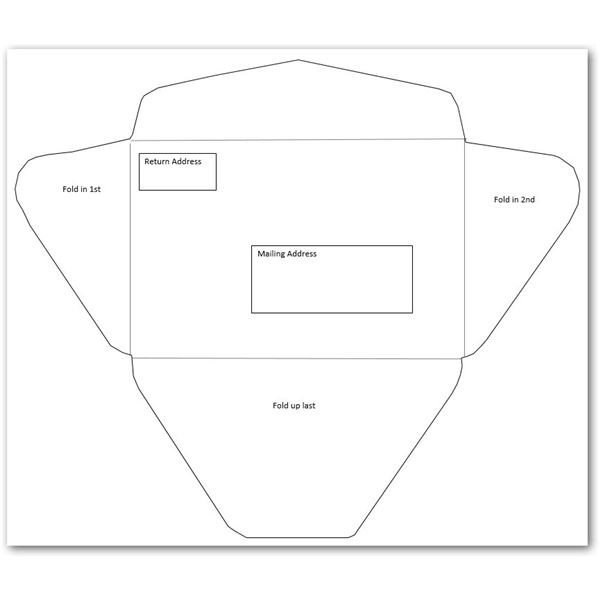 Envelope Template for Word 10 Envelope Template